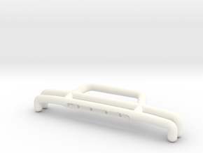 081009-01 KingCab Front Bumper in White Strong & Flexible Polished