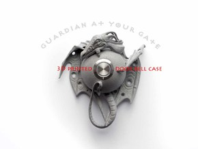 """""""Guardian at your gate"""" - Dragon door bell in Polished Metallic Plastic"""