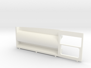 DeAgo Falcon Hold Forward Wall Replacement w/ Pipe in White Processed Versatile Plastic