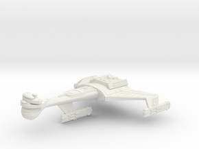 3125 Scale Klingon C8K Refitted Dreadnought WEM in White Natural Versatile Plastic