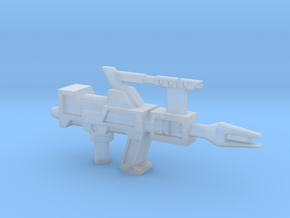 Transformers G1 Topspin Gun in Smooth Fine Detail Plastic