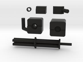 Transformers Generations Springer Gatling Gun in Black Natural Versatile Plastic