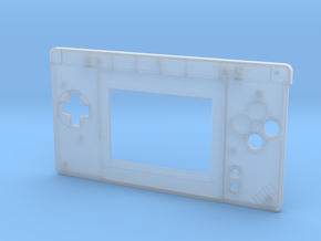 Gameboy Macro Faceplate (for DS Lite) - 2 Buttons in Frosted Ultra Detail