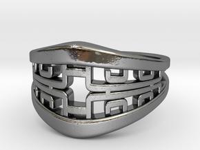 Korean Twin Ring in Premium Silver
