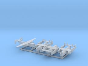 C-2 w/Gear x4 (FUD) in Smooth Fine Detail Plastic: 1:700