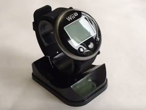 Wii Fit - Watch Backing in Black Strong & Flexible