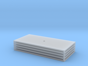 Trench Plate - 4x8' (5) in Smooth Fine Detail Plastic