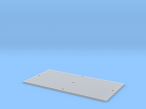 Trench Plate - 8'x16' in Smooth Fine Detail Plastic