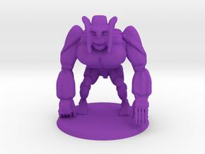 Simia Daemon in Purple Processed Versatile Plastic