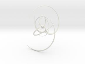 Esoterica Spiralis in White Natural Versatile Plastic
