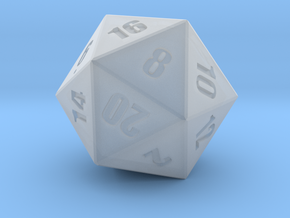 D20 - Simple in Smoothest Fine Detail Plastic