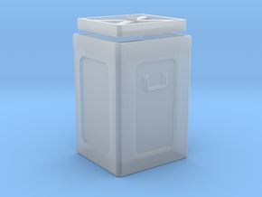 1/72 40mm Ammo Box Lid Open in Smooth Fine Detail Plastic