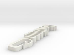 Lil' Tugger Cable Strain Relief in White Natural Versatile Plastic