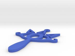 Sheika Keychain in Blue Processed Versatile Plastic