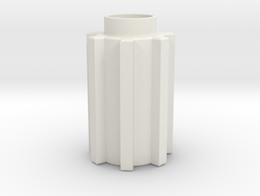 Luke in White Natural Versatile Plastic