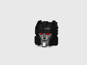 "Aimless Shooter ""MTMTE"" Face in Smooth Fine Detail Plastic"