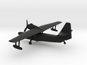 Beriev Be-8 Mole (Landing Gear) in Black Natural Versatile Plastic: 1:200
