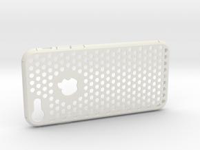 iPhone 7 Slim Case - Dotty in White Natural Versatile Plastic