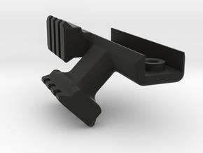 GHK AUG GBB 45 degrees 2x Rail in Black Natural Versatile Plastic
