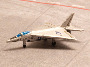 Northrop N-102 Fang (with Landing gear) 1/285 6mm in White Natural Versatile Plastic