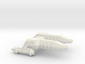 3125 Scale Lyran Cheetah Frigate (FF) CVN in White Natural Versatile Plastic