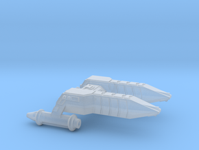 3125 Scale Lyran Cheetah Frigate (FF) CVN in Smooth Fine Detail Plastic