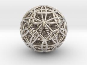 Ultra IcosaDodecasphere in Platinum