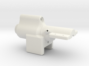 Water Inlet Main in White Natural Versatile Plastic