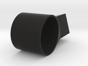 OpenBeam To Rift Sensor Left in Black Natural Versatile Plastic