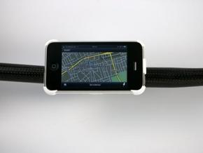 iPhone 3G / 3GS bike mount in White Strong & Flexible
