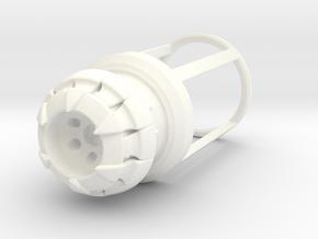 Blade Plug - Moraband in White Processed Versatile Plastic
