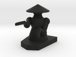 Pawn / Bauer in Black Natural Versatile Plastic