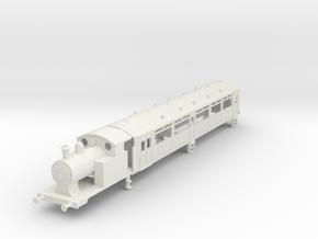 O-87-l-y-steam-railmotor1 in White Natural Versatile Plastic