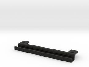 GK-saddle-6mm-deep in Black Natural Versatile Plastic