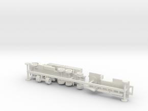 Faun L900 Hvy. Truck w. sd.Ah. 115 Trailer 1/144 in White Natural Versatile Plastic