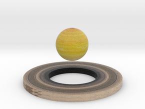 Saturn plus Ring in Full Color Sandstone