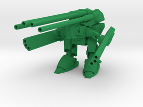 1/285 Space Battle Robot Custom in Green Processed Versatile Plastic