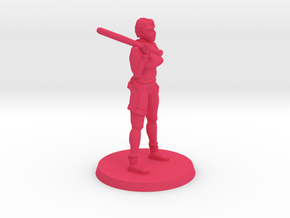 36mm Tammy Zombie Hunter in Pink Processed Versatile Plastic
