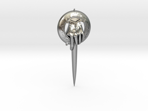Kings Adjutants clip from Game of Thrones in Natural Silver