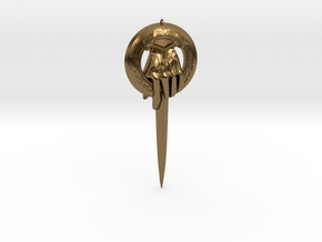 Kings Adjutants clip from Game of Thrones in Natural Bronze
