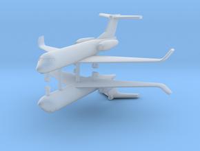 1/500 Low Detail G550 Gulfstream (x2) in Smooth Fine Detail Plastic