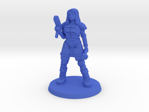Raider Bree in Blue Processed Versatile Plastic
