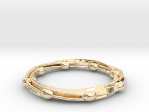 cOSMOS in 14K Yellow Gold: Extra Small