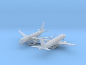 CS100 & 300 w/Gear x2 (FUD) in Smooth Fine Detail Plastic: 1:700
