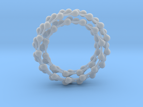 Ball jointed chain 2.1 meters in Smooth Fine Detail Plastic