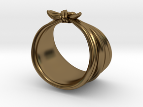 The Rosie Ring in Polished Bronze: 6.5 / 52.75