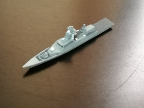 Steregushchy-class Corvette, 1/1800 in White Natural Versatile Plastic