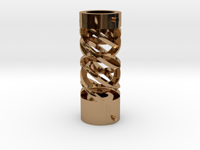 Chamber 2 in Polished Brass