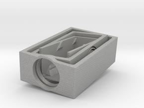 3dprint helixflexure gimbal in Aluminum