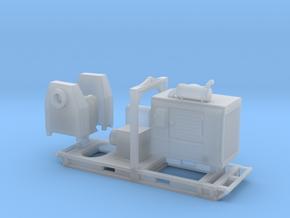 1/64th De-watering diesel water pump  in Smooth Fine Detail Plastic
